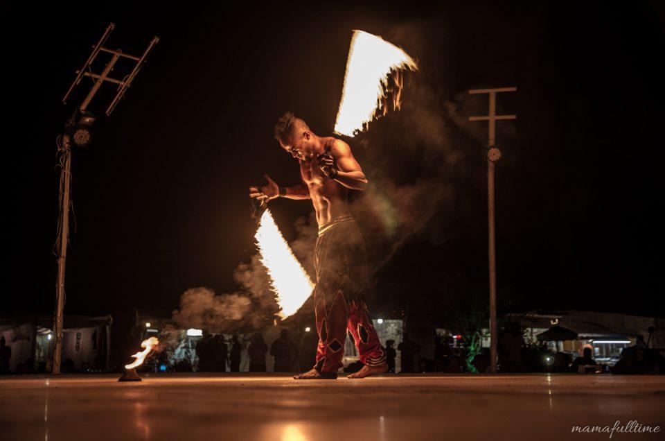 Taniec z ogniem