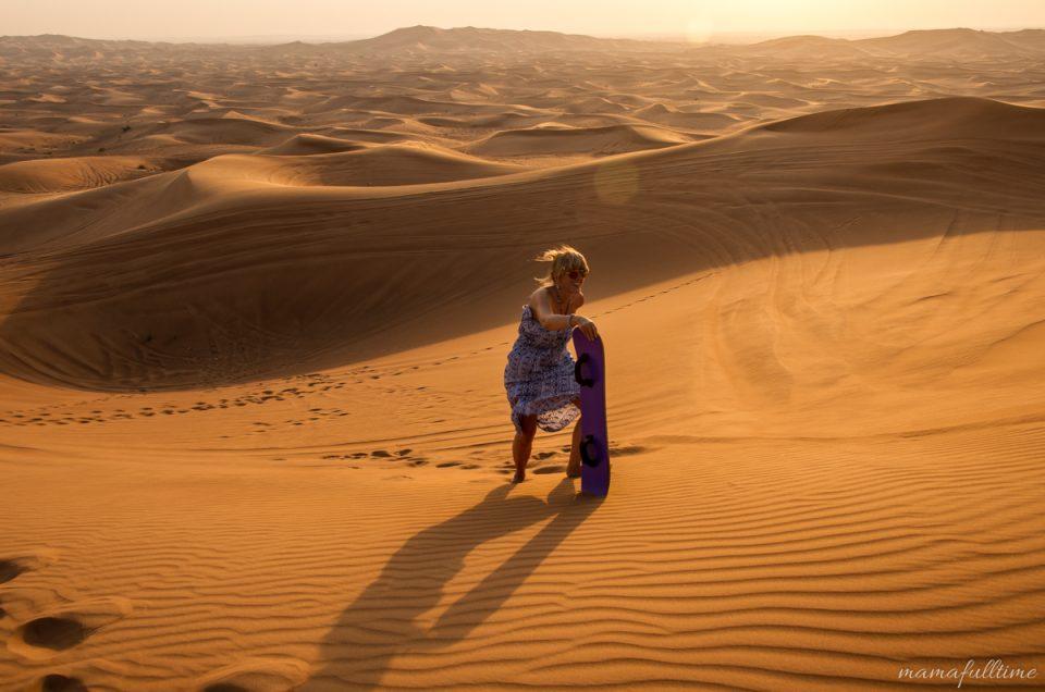 Dubaj – pustynia